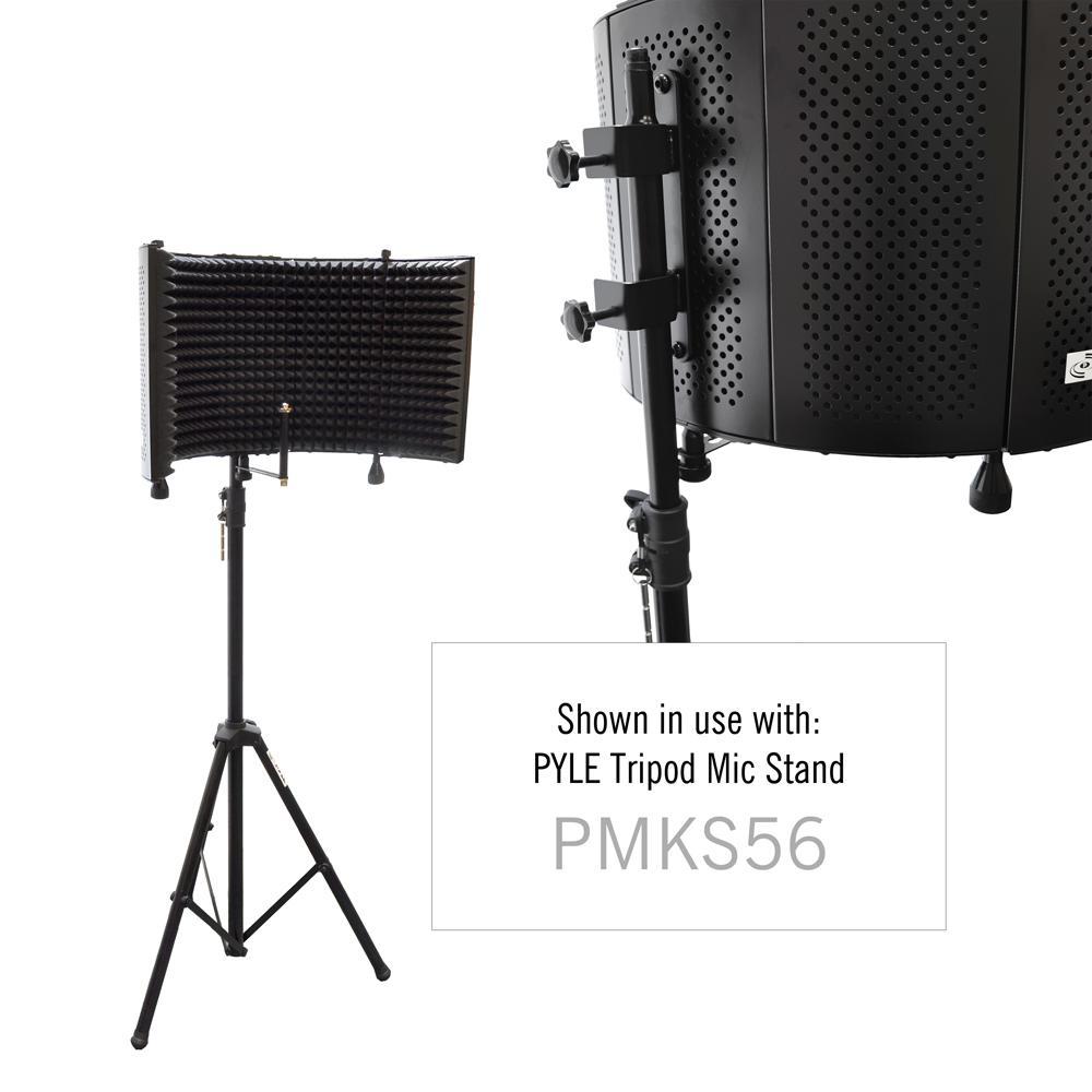 studio microphone foam shield soundproofing acoustic panel soundproof filter sound. Black Bedroom Furniture Sets. Home Design Ideas