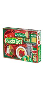 spaghetti;pretend;play;kitchen;food;cooking;restaurant;house
