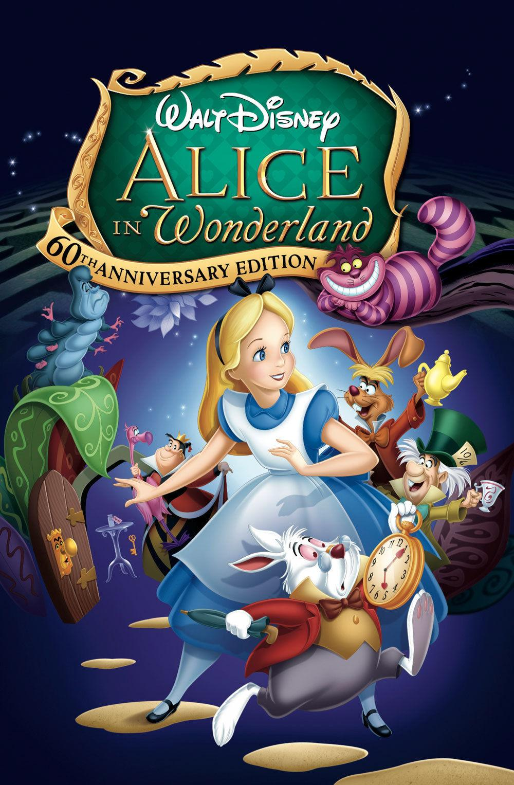 alice in wonderland 1951 this disney animated feature is a classic and