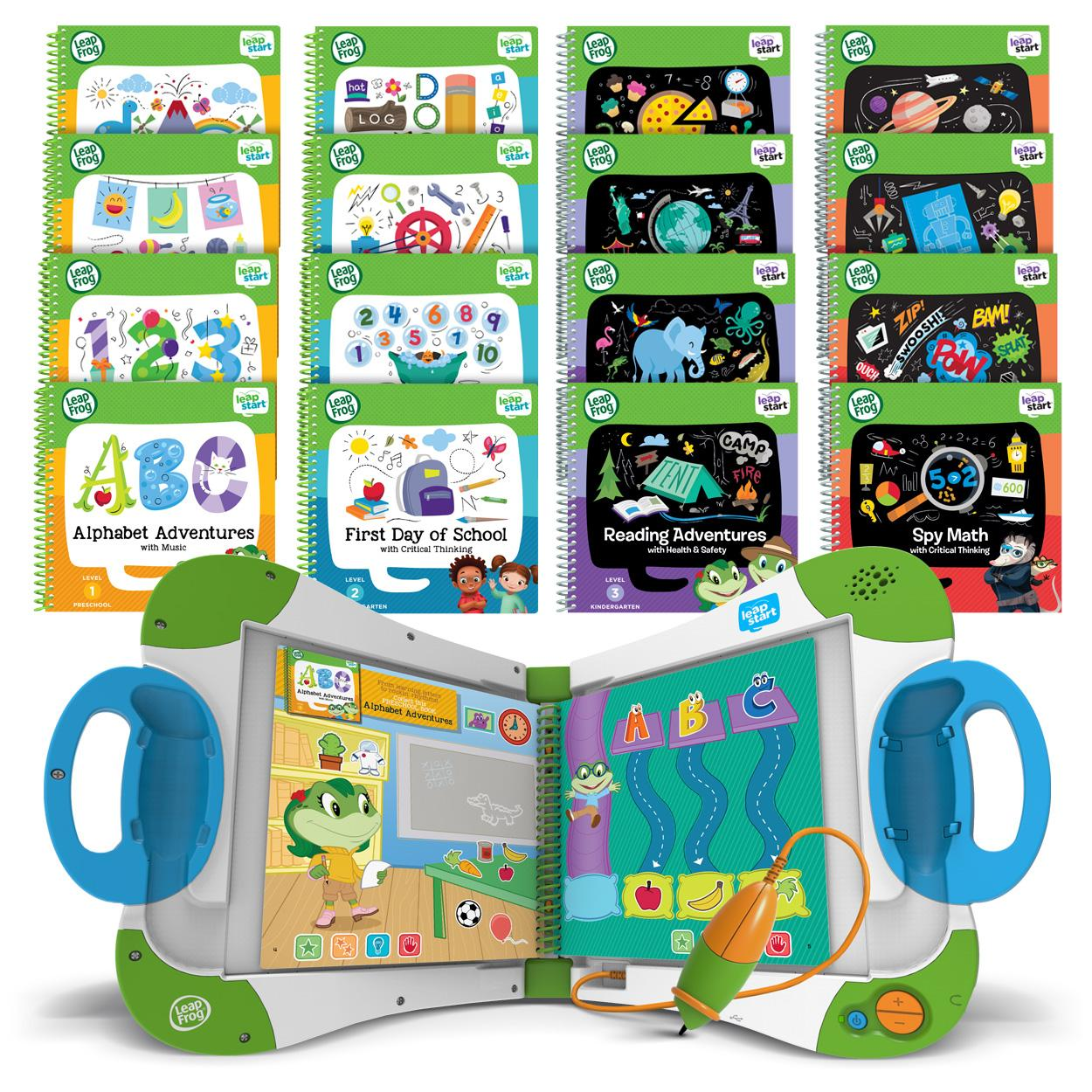 Amazon.com: LeapFrog LeapStart Interactive Learning System ...