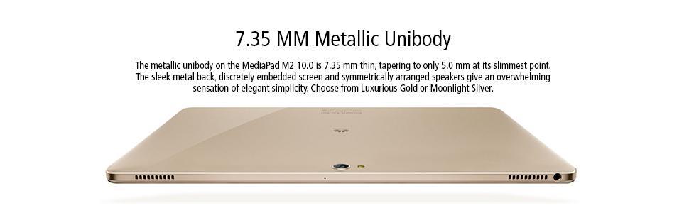 7.35 mm, thin, taper, metal, elegant simplicity, simplicity, elegance, unibody, sleek, high-end