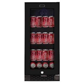 Amazon Com Whynter Bbr 801bg Built In Glass 80 Can
