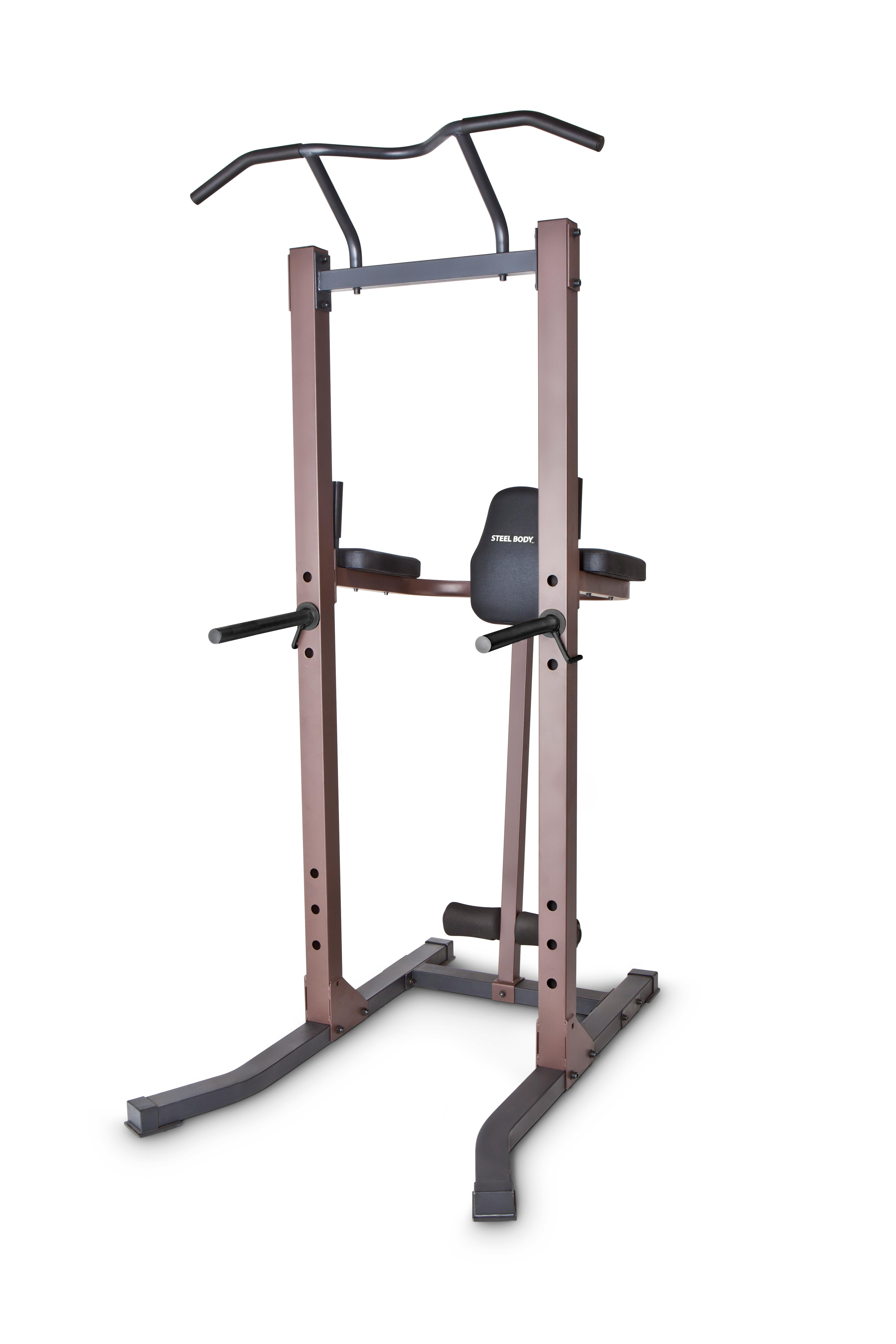 Amazon.com : steelbody strength training power tower pull up & dip