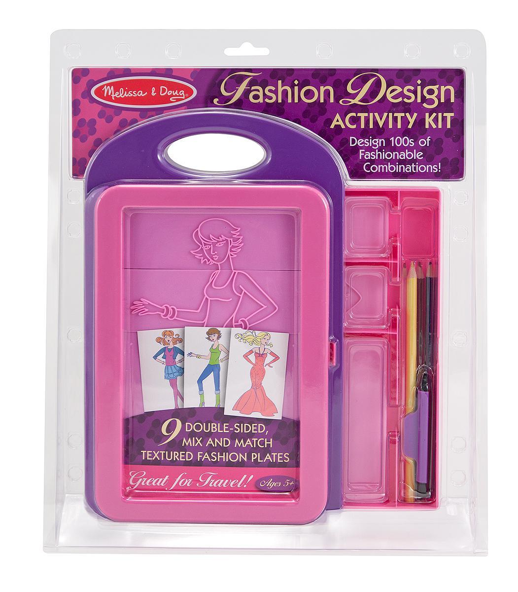 Kids Rub On Fashion Design