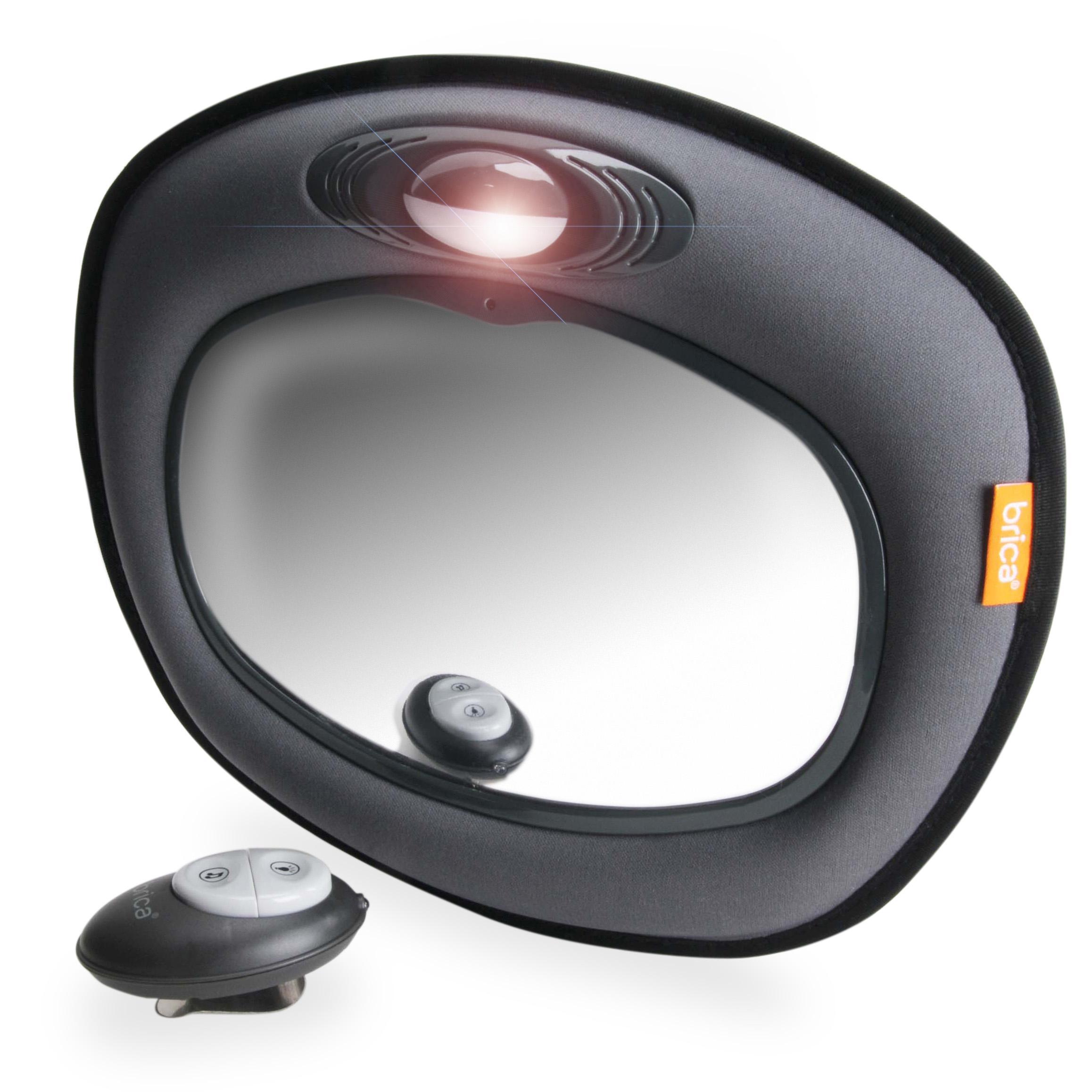 Amazon Com Brica Day Amp Night Light Musical Auto Mirror