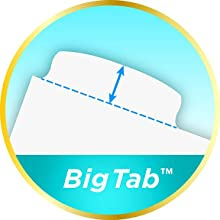 Big Tabs, dividers with larger tabs