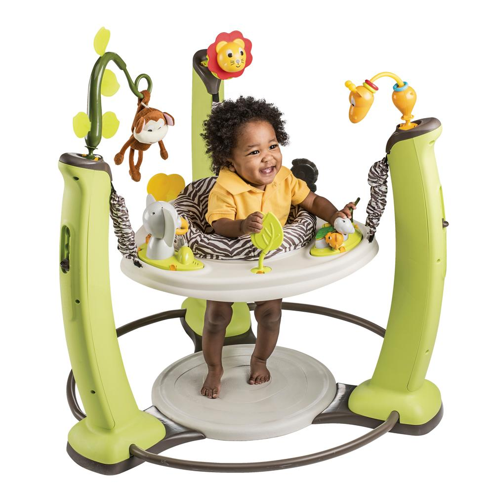 modern baby jumper - amazoncom evenflo exersaucer jump and learn jumper jungle
