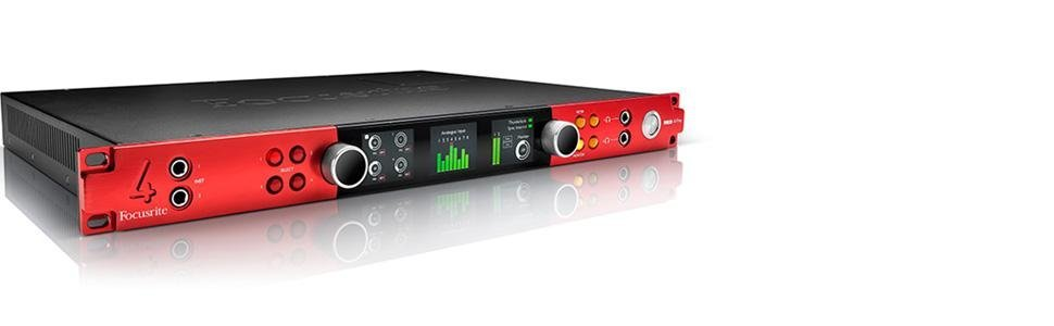 Amazon.com: Focusrite Rojo 4pre 58-in/64-out Thunderbolt 2 ...