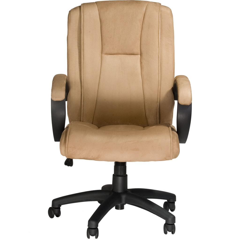 amazon com comfort products padded faux suede executive chair