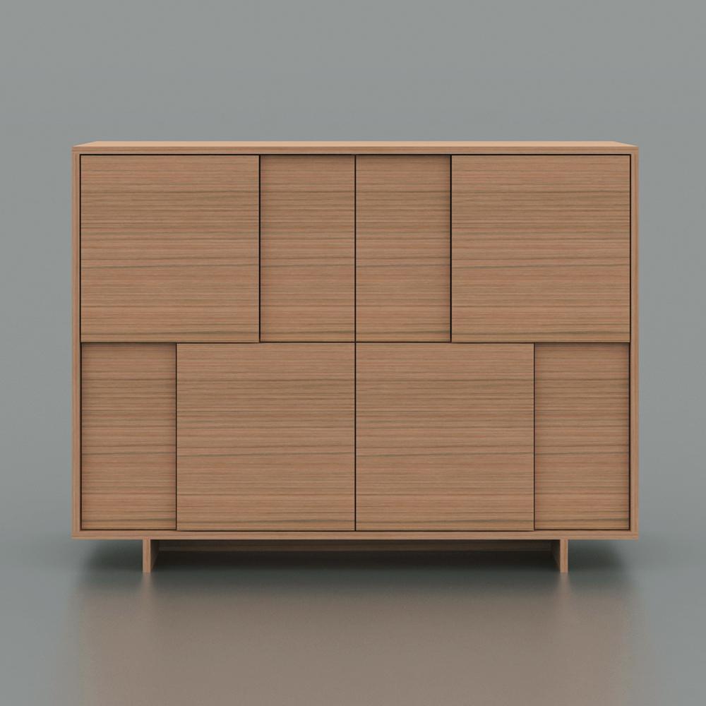 Birch Veneer Buffet ~ Amazon argo furniture timber contemporary veneer mdf