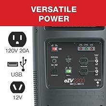 portable generator, inverter generator, camping generator, quiet generator, portable power generator