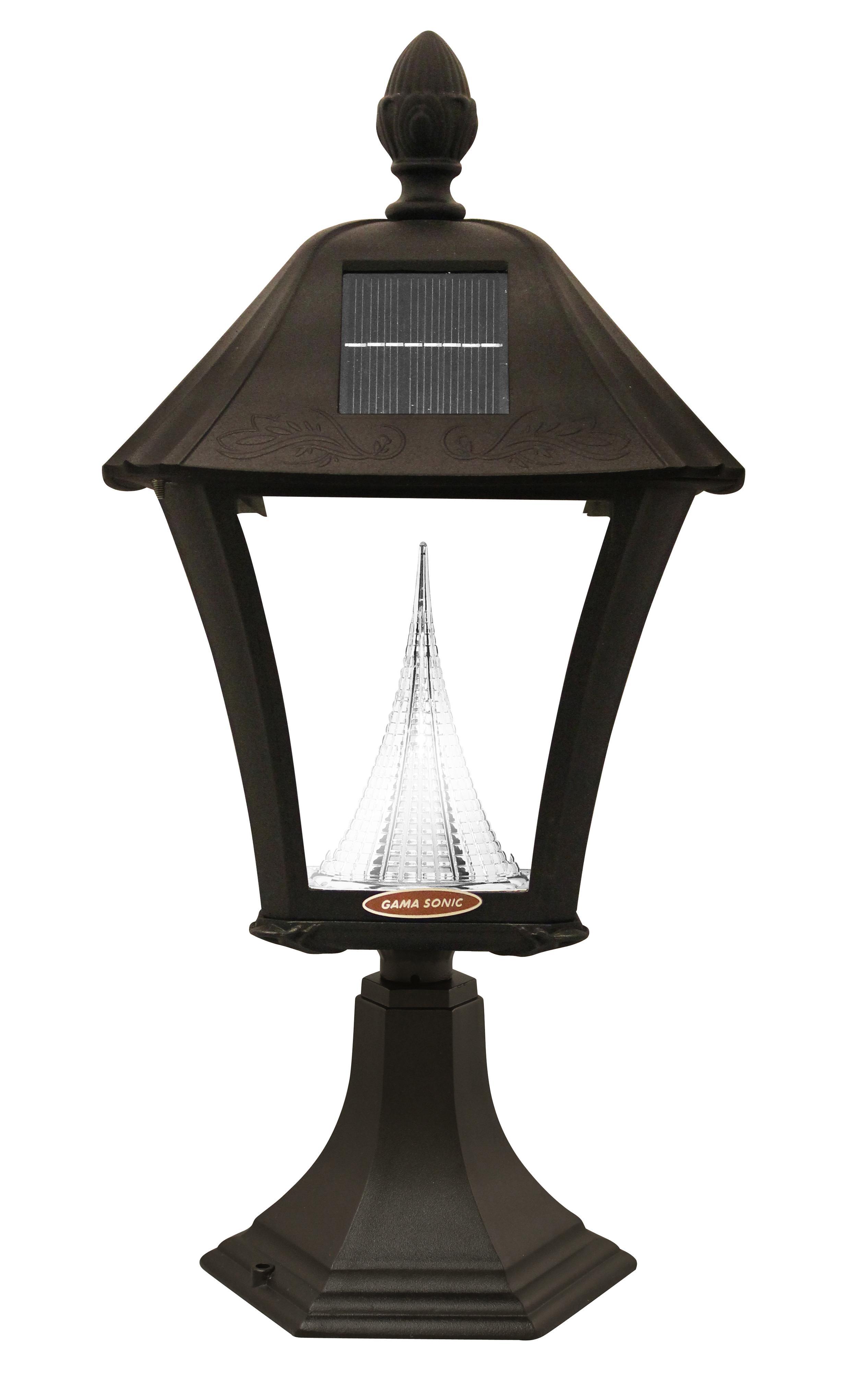 Amazon.com : Gama Sonic Baytown Solar Outdoor LED Light