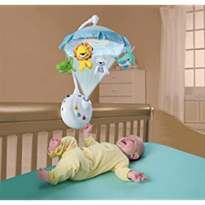 fisher price 2 in 1 projection mobile instructions
