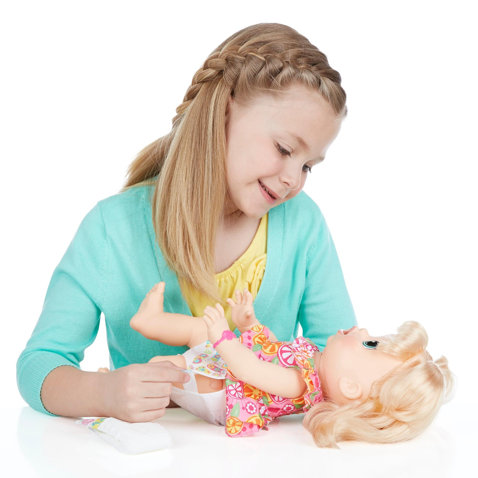 Amazon Com Baby Alive Super Snacks Snackin Sara Blonde