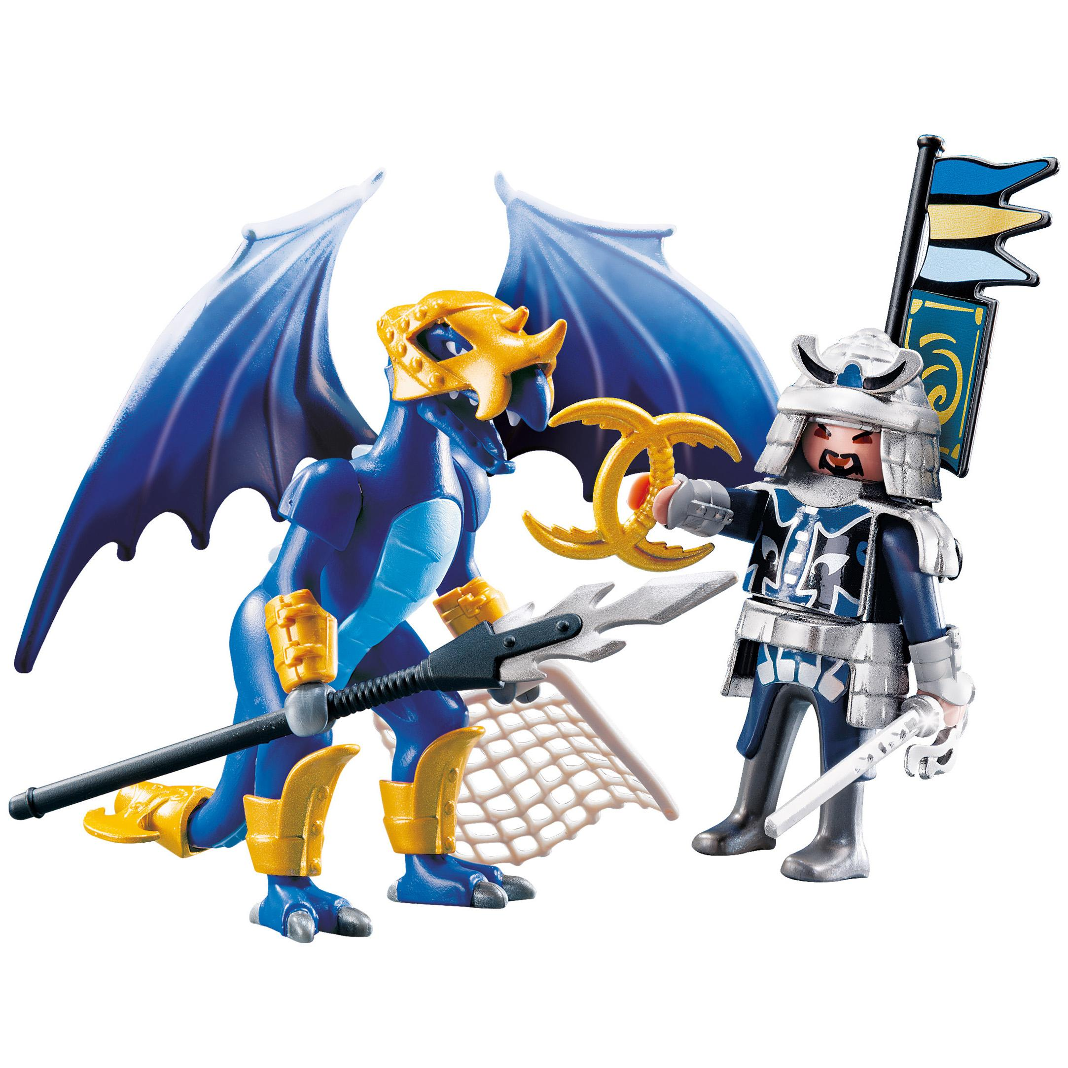 Warriors Fire And Ice Episode 3: Amazon.com: PLAYMOBIL Ice Dragon With Warrior: Toys & Games