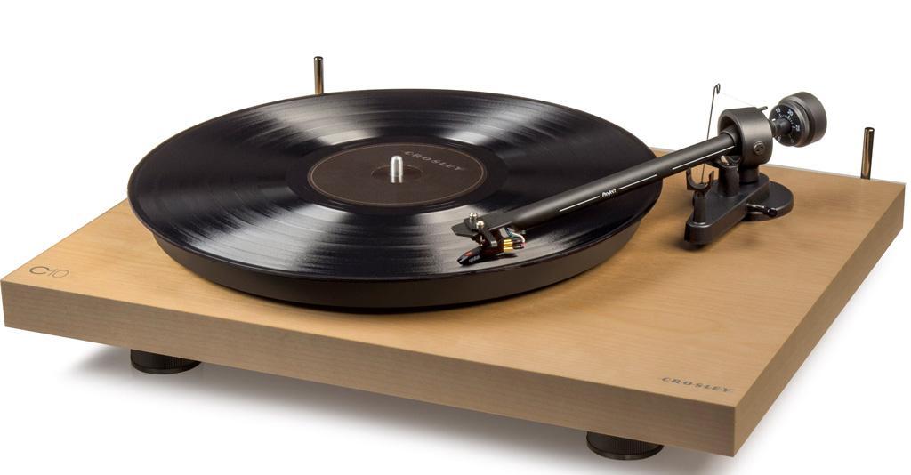 Amazon.com: Crosley C10A-NA Hardwood Turntable with Low