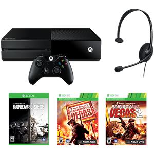 Amazon com: Xbox One 1TB Console - Tom Clancy's Rainbow Six