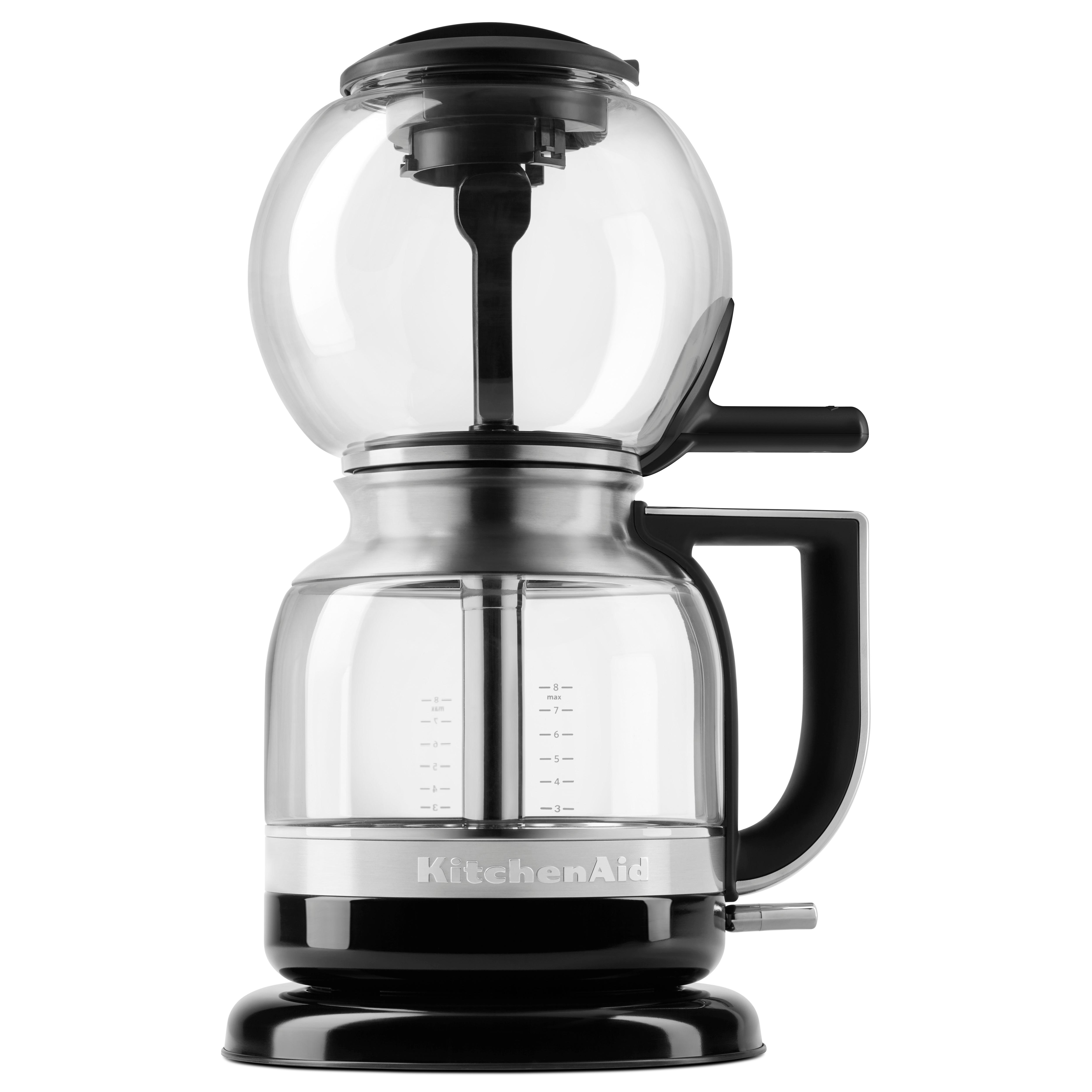 Amazon Com Kitchenaid Kcm0812ob Siphon Coffee Brewer