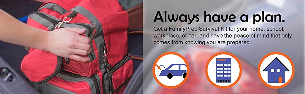 emergency preparedness kit safety readiness backpack