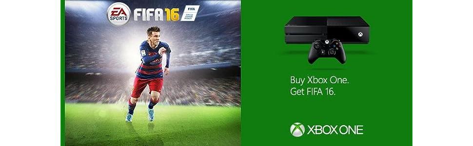 Amazon com: Xbox One 1 TB Console - EA Sports FIFA 16 Bundle