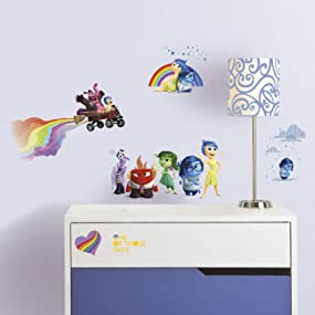 inside out wall decals, inside out wall stickers