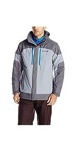Amazon.com : Columbia Men's Lhotse II Interchange Jacket ...
