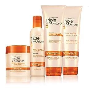 NEUTROGENA TRIPLE MOISTURE product line