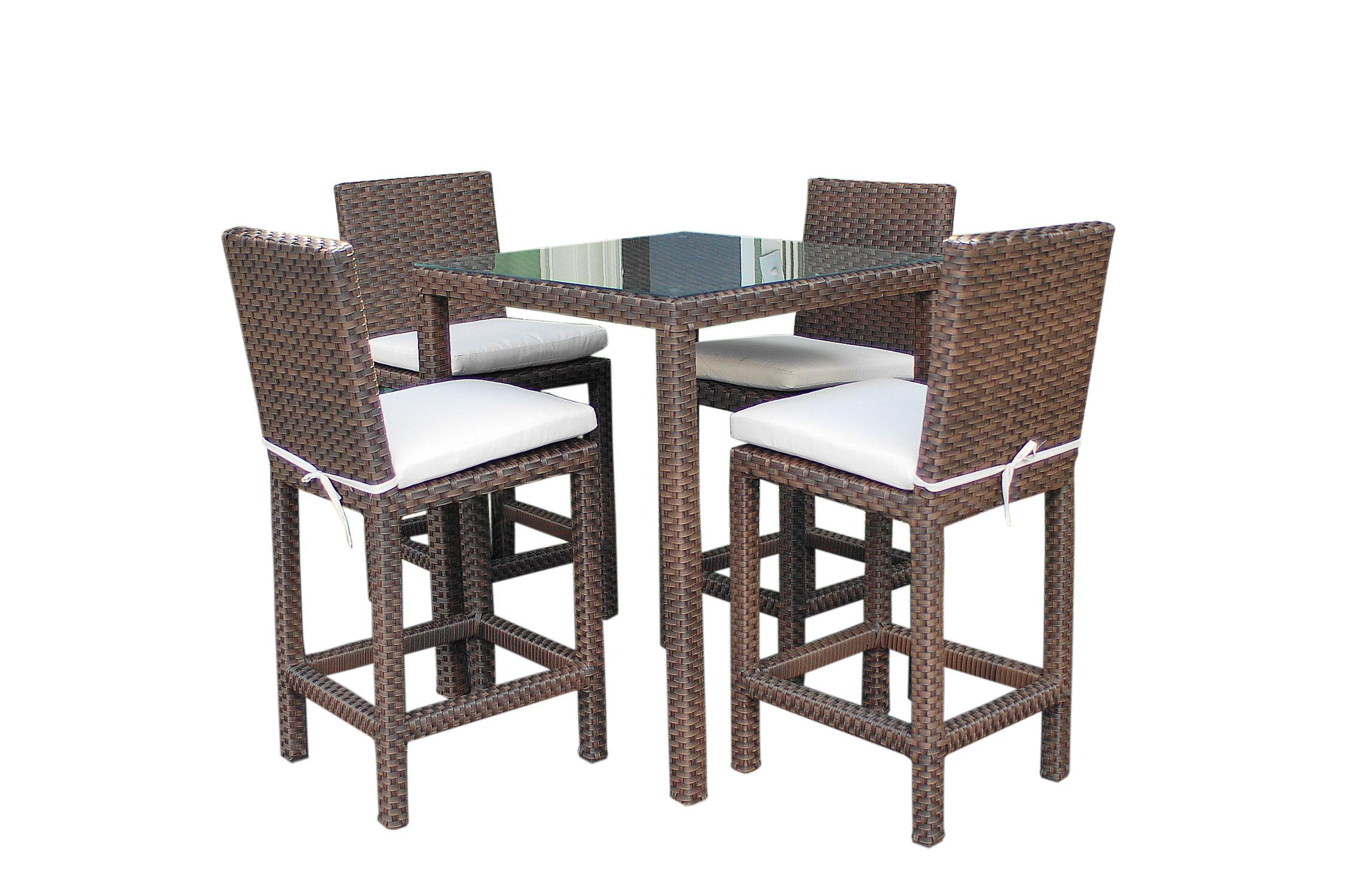 Amazon Atlantic Monza 5 Piece Bar Set Outdoor And Patio