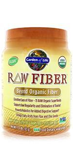 RAW Fiber Organic Powder