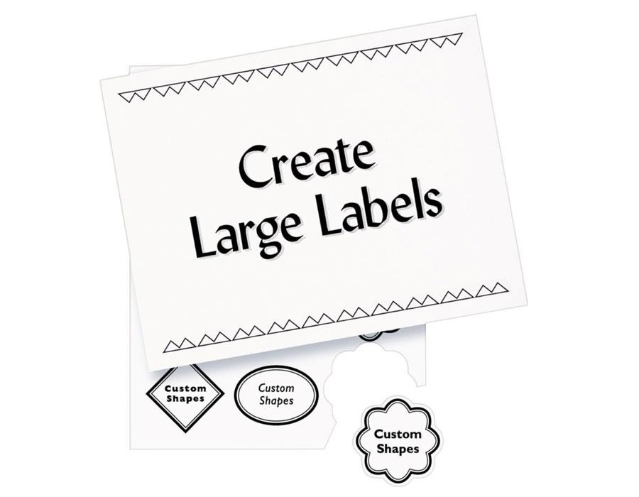 Amazon Avery White Copier Mailing Labels 5363 Office – Large Mailing Labels