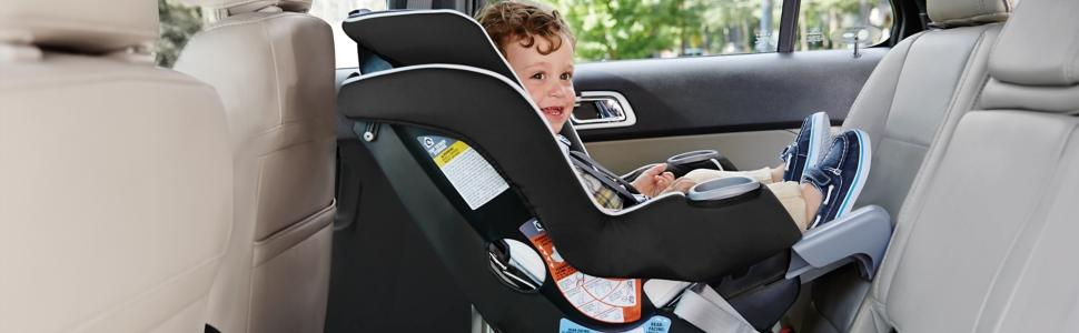 graco extend2fit convertible car seat gotham baby. Black Bedroom Furniture Sets. Home Design Ideas