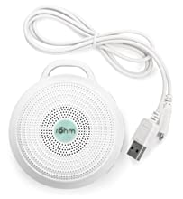 rohm usb rechargeable portable white noise sound machine