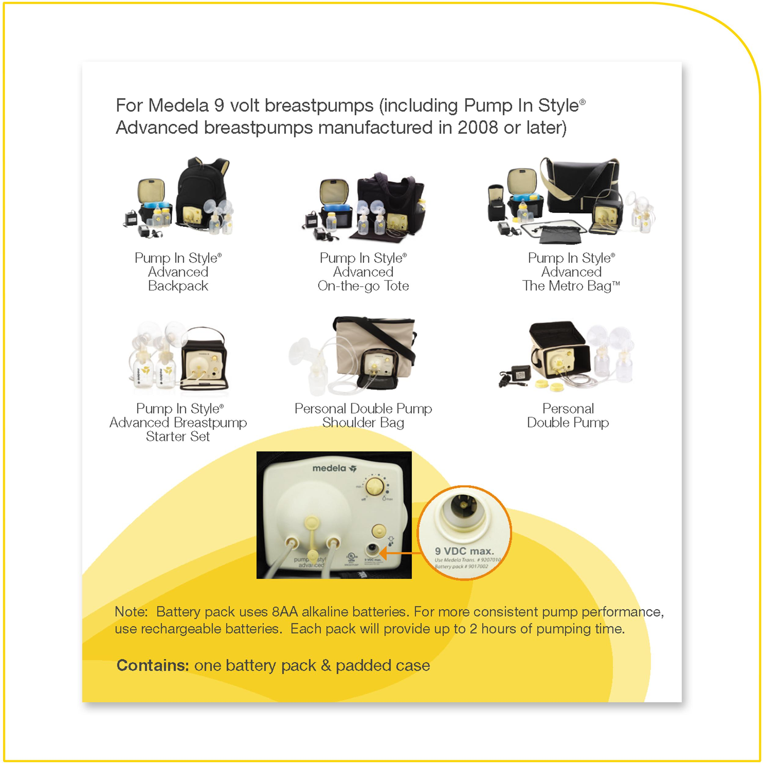 d138c57bea09b Amazon.com   Medela Pump in Style Battery Pack