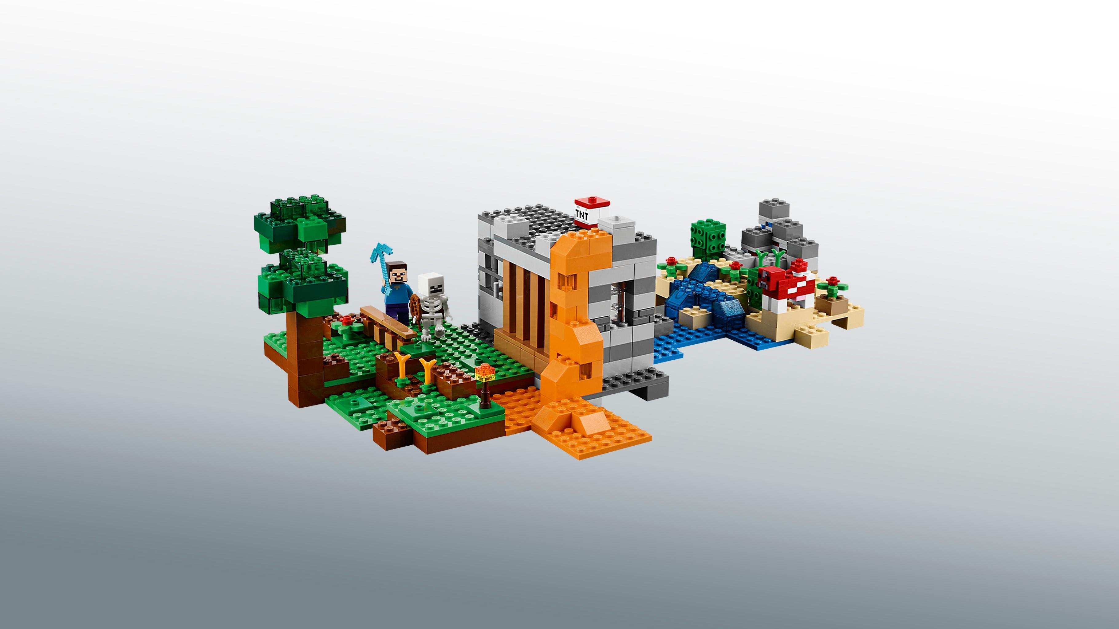 Amazon.com: LEGO 21116 Minecraft Crafting Box: Toys & Games