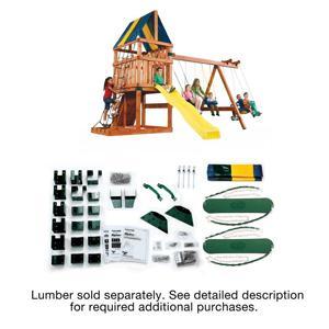 Amazon Com Alpine Custom Swing Set Hardware Kit Wood Not Included