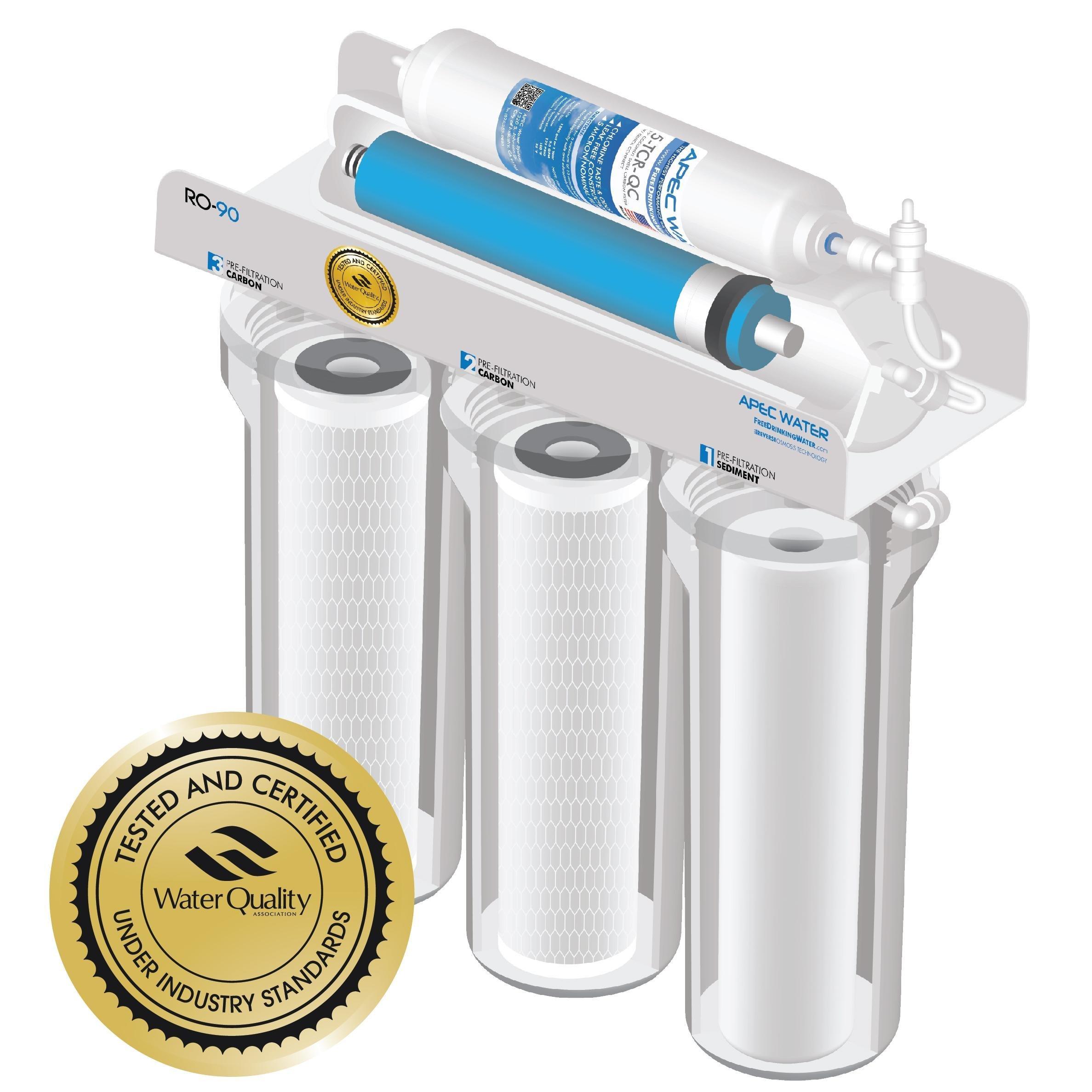 Apec Water Top Tier Built In Usa Certified Ultra