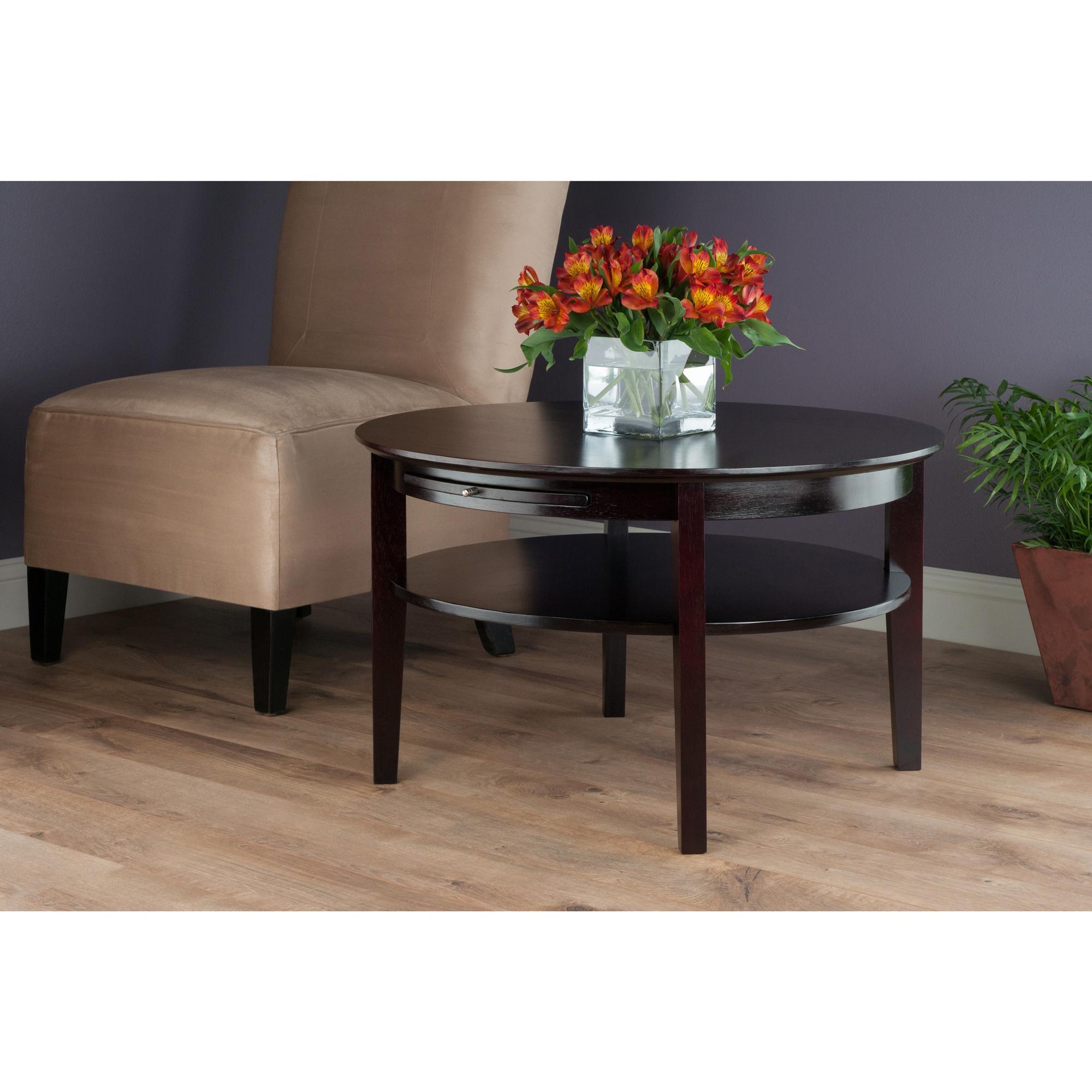 Amazon Com Winsome 92232 Amelia Occasional Table Dark