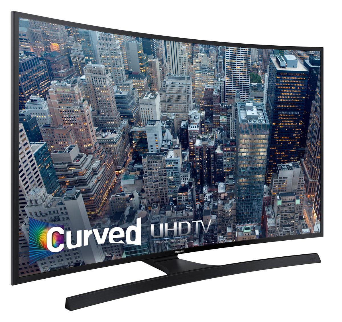samsung un48ju6700 curved 48 inch 4k ultra hd smart led tv electronics. Black Bedroom Furniture Sets. Home Design Ideas