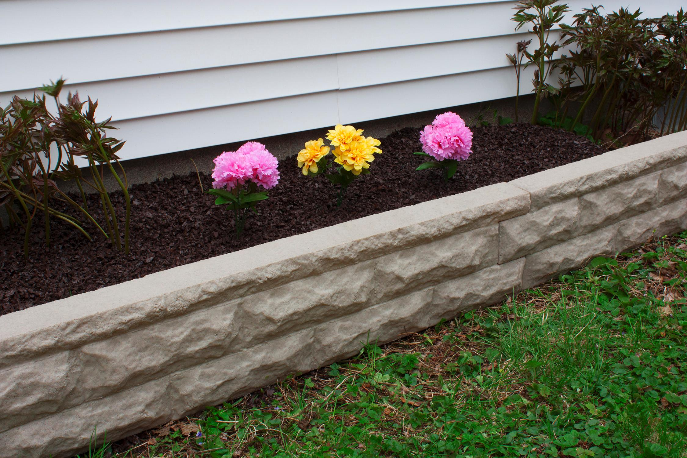 Stone Border Edging Landscape Wall Brick Decorative
