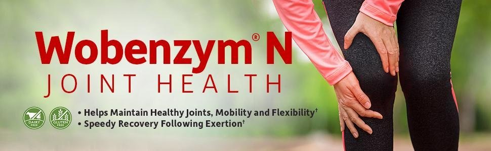Wobenzym N joint health mobility flexibility recovery