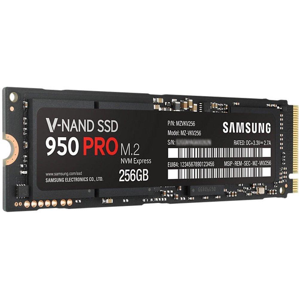 amazon   samsung 950 pro series   256gb pcie nvme   m 2