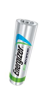 ecoadvanced, recycled batteries, long lasting alkaline
