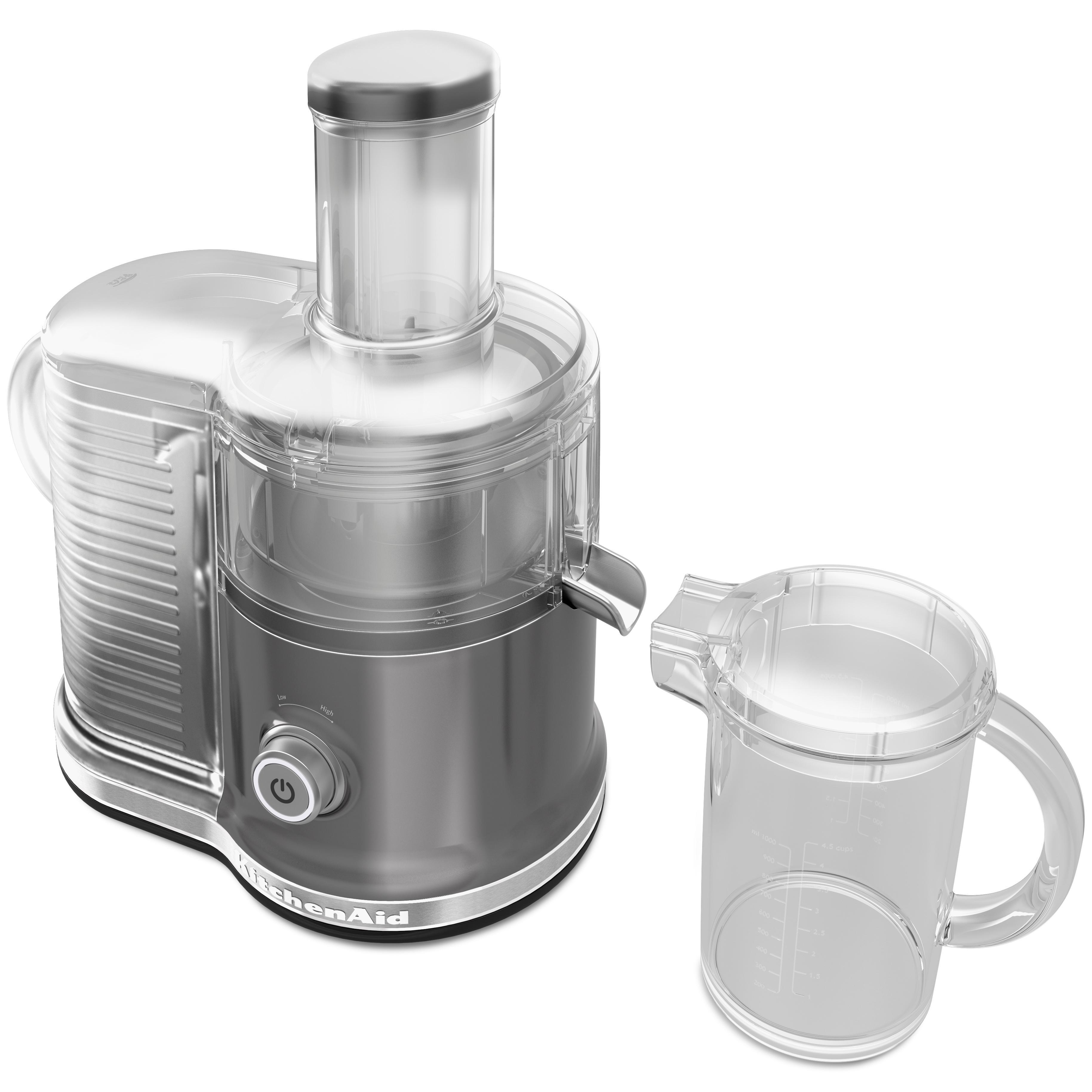 Amazon Com Kitchenaid Kvj0333cu Easy Clean Juicer