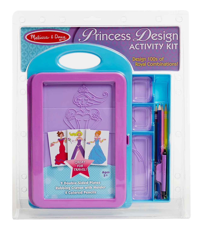 Amazon.com: Melissa & Doug Princess Design Activity Kit