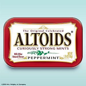Altoids Original mints, Altoids tin