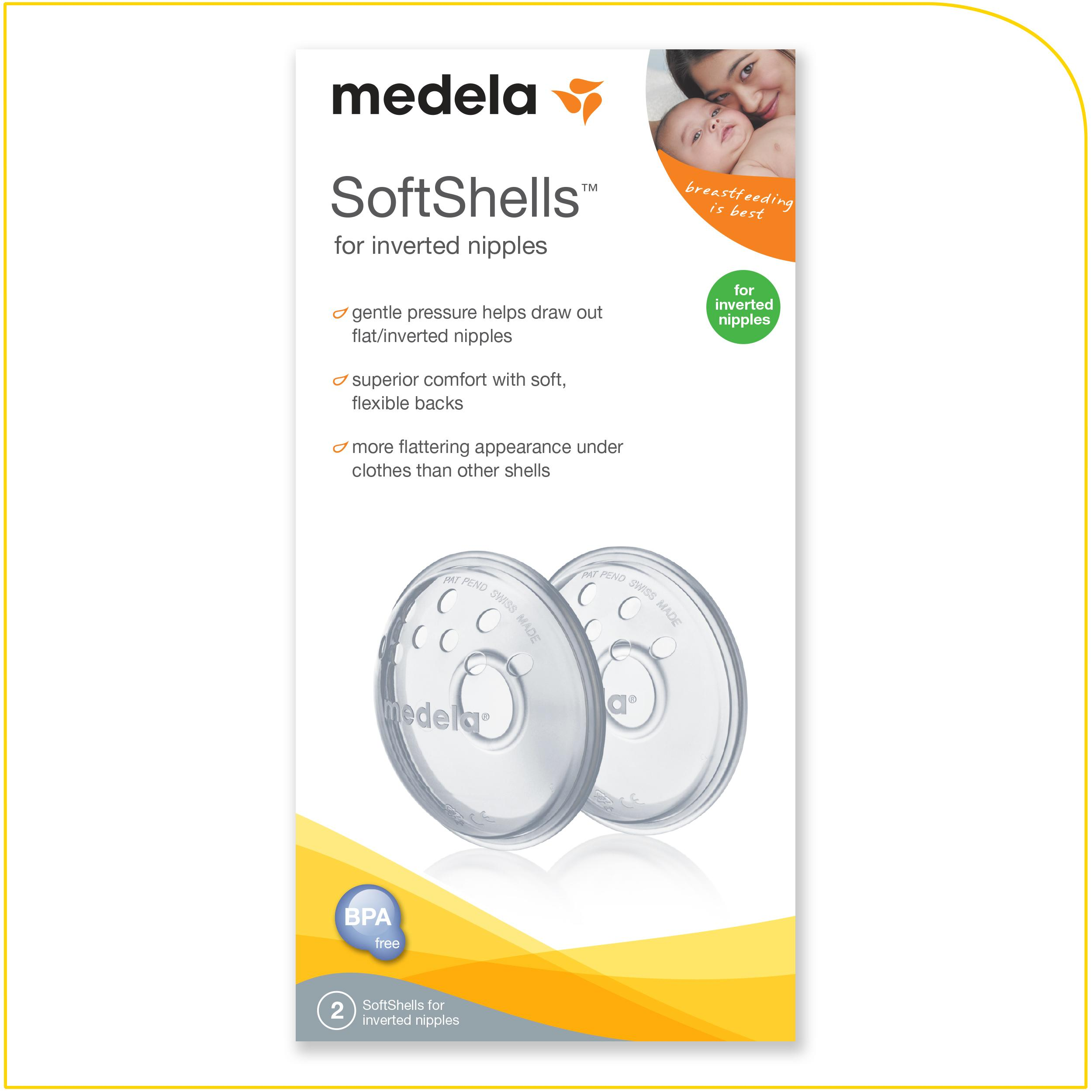 Amazoncom  Medela Softshells Breast Shells For Flat Or -2577