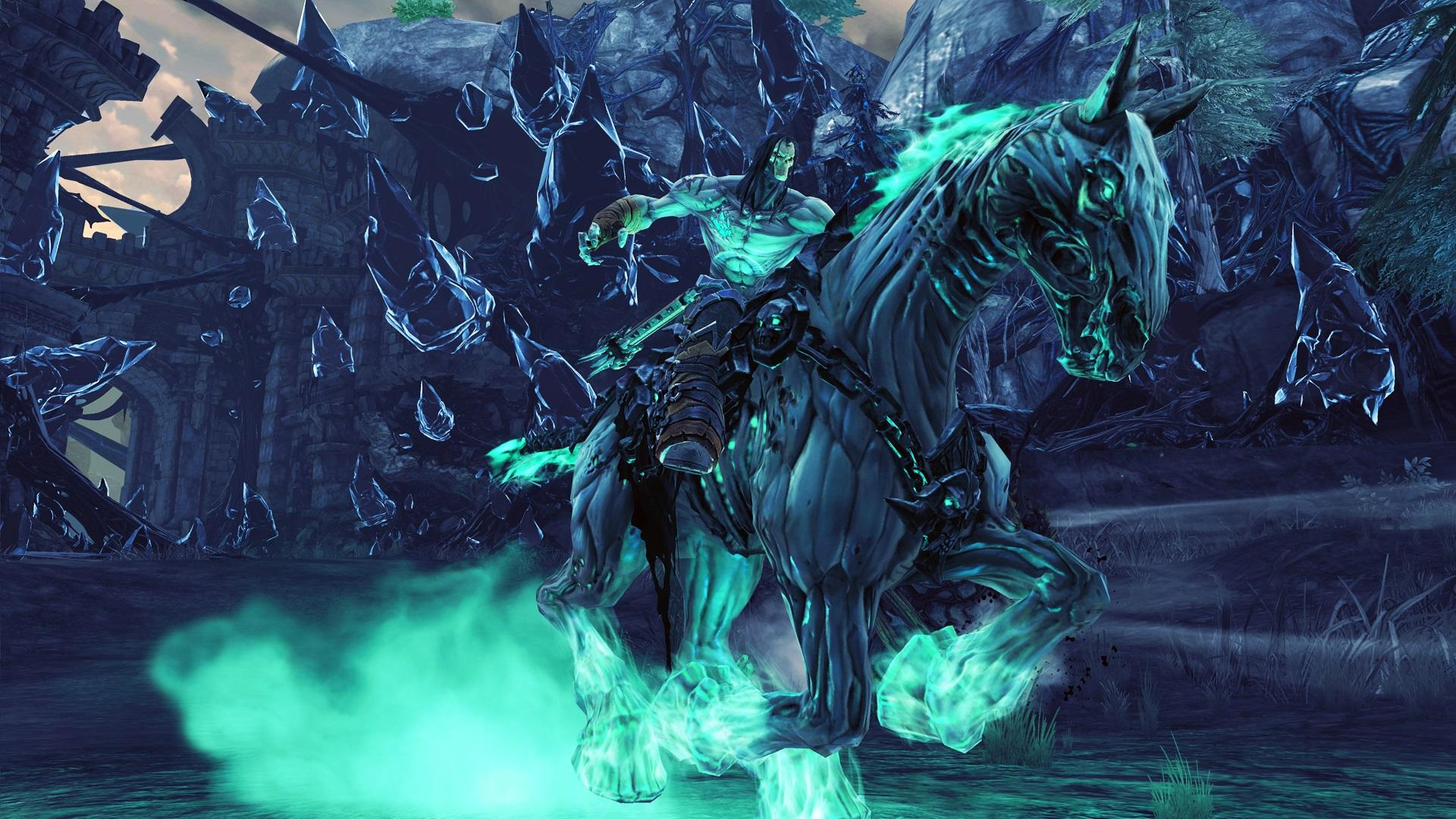 amazon com darksiders 2 deathinitive edition playstation 4