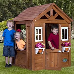 Amazon.com: Backyard Discovery Timberlake All Cedar Wood ...
