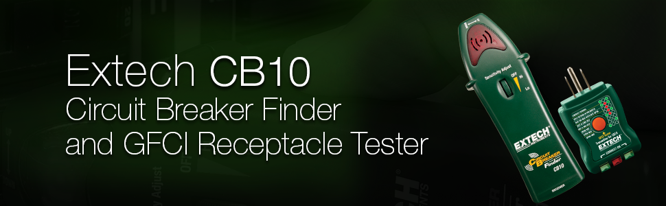 Extech CB10 Circuit Breaker Finder - Circuit Testers - Amazon.com