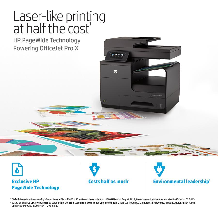 Amazon HP OfficeJet Pro X476dn Office Printer With Print